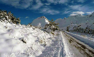 Mallorca Bedekt Onder Laag Sneeuw (foto's)