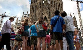 De Sagrada Familia in Barcelona heeft in 2016 in totaal 4,5 miljoen bezoekers ontvangen
