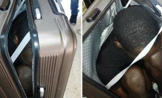 Afrikaanse vrouw probeert 19-jarige jongen in koffer over de Spaanse grens te smokkelen