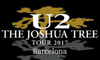 """U2 geeft op 18 juli dit jaar in Barcelona een """"The Joshua Tree"""" 30-jarig jubileumconcert"""