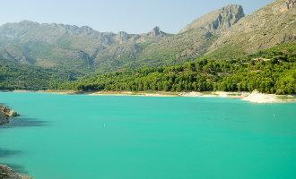 Stuwmeren Provincie Alicante Goed Gevuld Na Laatste Regenbuien
