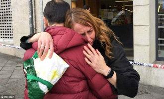 """Man loopt al schietend en schreeuwend """"Allah is groot"""" een Mercadona binnen in Galicië UPDATE (video)"""