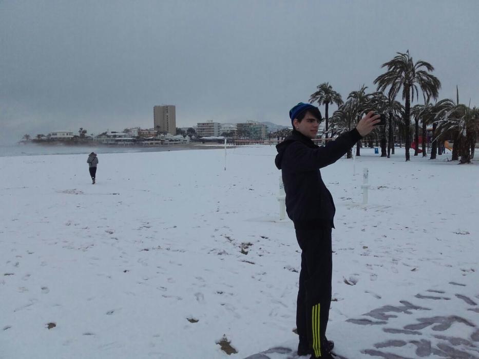 Alles over de sneeuw en kou langs de Middellandse Zeekust in Spanje (2017)