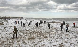 Alles Over De Sneeuw En Kou Langs De Middellandse Zeekust In Spanje
