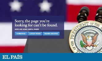 Donald Trump Haalt De Spaanse Website Van Het Witte Huis Uit De Lucht