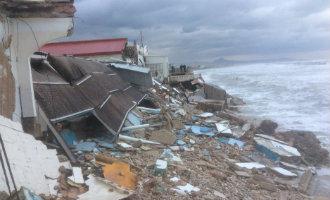 Schade na slechte weer Middellandse Zeekust Spanje in beeld (2017)
