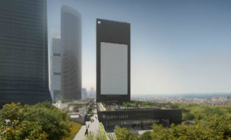 Madrid Krijgt Er Een 36 Verdiepingen Tellende Wolkenkrabber Bij, De Torre Caleido