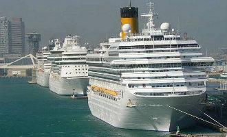 2016 Afgesloten Met 8,5 Miljoen Cruiseschip Passagiers En 3.900 Cruiseschepen In Spanje