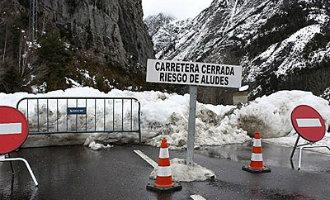 Hotelgasten geëvacueerd vanwege lawines in de Spaanse Pyreneeën