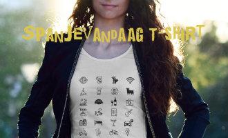 Laatste Kans! Het SpanjeVandaag T-shirt Met Handige Spanje En Vakantie Symbolen