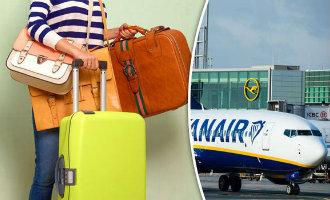 Ryanair Waarschuwt Reizigers Van En Naar Spanje In Verband Met De Twee Stuks Toegestane Handbagage