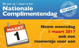 Nationale Complimentendag Nederland Op 1 Maart Wil Verder Gaan Uitbreiden In Spanje
