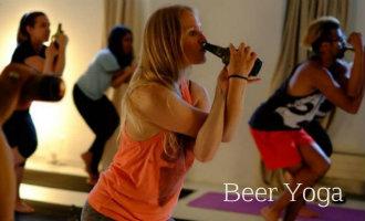 Doe Jij Al Mee Met De Nieuwste Trend In Spanje: Beer Yoga!