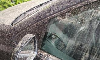 Er Komt Zand/modder Regen Aan In Andalusië