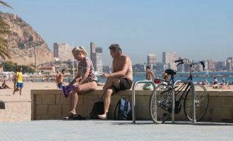 Temperatuur Records Verbroken In Provincie Alicante Met 34,8 Graden In De Winter