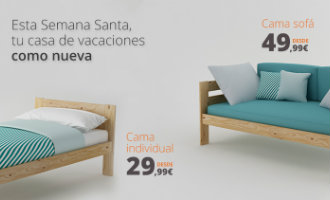Leer de Baskische Ikea kennen met eigen gemaakte houten bedden vanaf 30 euro