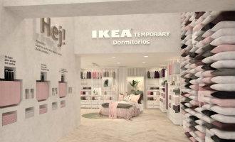 Ikea opent nieuwe tijdelijke winkelruimte in het centrum van Madrid (foto's)