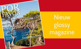 Nieuw Viermaandelijks Glossy Magazine Over Het Beste Van Spanje: Por Favor!