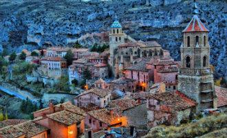 En het mooiste dorp van Spanje is: Albarracín in de provincie Teruel (Aragón)