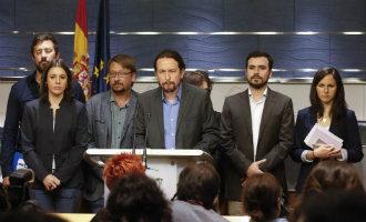 Podemos dient een motie van wantrouwen in vanwege de corruptie binnen Rajoy's politieke partij PP