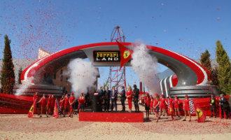 Pretpark Ferrari Land officieel geopend naast PortAventura in Salou