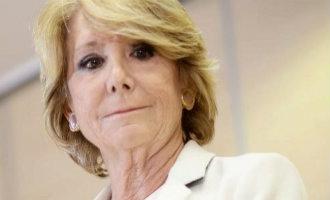 PP kopstuk en ex regionale premier van Madrid Esperanza Aguirre stapt op vanwege vele schandalen