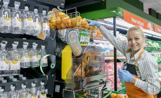 Mercadona heeft nu in alle +1.600 supermarkten verse sinaasappelsap machines staan