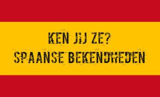 Doe mee met onze Spaanse bekendheden quiz en test jouw Spanje kennis