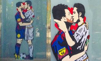 Messi En Ronaldo Al Zoenend Gezien In Barcelona (video)