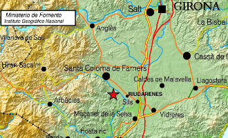 Aardbeving van 3,9 op Richter schaal in Girona