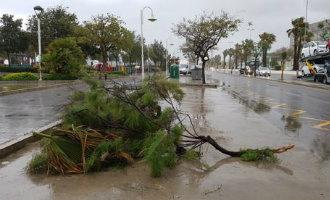 Opnieuw slecht weer met storm, regen en overstromingen in Andalusië