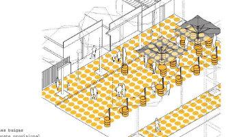 Badplaats Salou krijgt er een nieuw voetgangerszone bij door afsluiting drukke weg