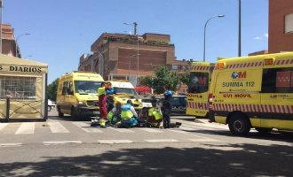 81-jarige man overleden na een verkeersdiscussie met een 18-jarige jongen nabij Madrid