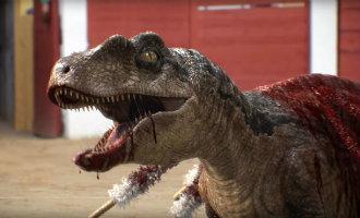 Franse anti stierenvechten campagne vervangt stier door dinosaurus in video