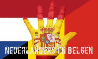 Overzicht van het aantal Nederlandse en Belgische inwoners in Spanje