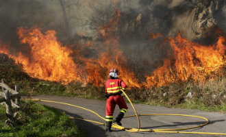Nu al meer bosbranden dan vorig jaar in Spanje en het bosbranden seizoen moet nog beginnen