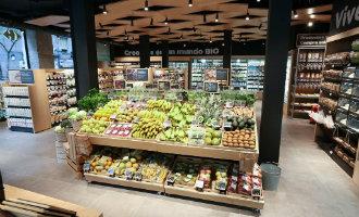 Ook Carrefour gaat in Spanje voor de ecologische en biologische producten met een eigen supermarkt