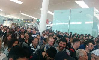 Chaos op het vliegveld van Barcelona vanwege extra paspoortcontroles