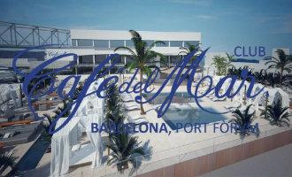 Barcelona krijgt er een nieuwe hotspot bij: De grootste Cafe del Mar (Ibiza) club van de wereld