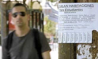 Een kamer huren in Barcelona of Madrid kost studenten meer dan 400 euro per maand