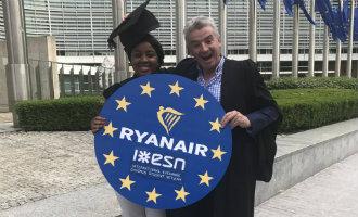 Erasmus studenten krijgen 15 procent korting bij het boeken van Ryanair tickets