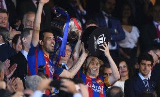 FC Barcelona wint 29e Copa del Rey beker na winst op Alavés