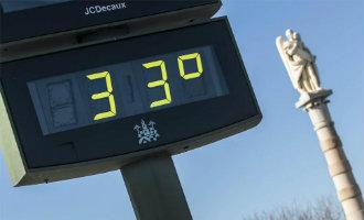 Het is voor even zomer in Spanje met hoge temperaturen boven de 30 graden