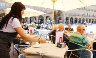 Geen messen en vorken meer op de terrassen in Salamanca