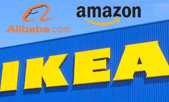 Ikea wil vanaf 2018 de artikelen gaan verkopen via Amazon of Alibaba