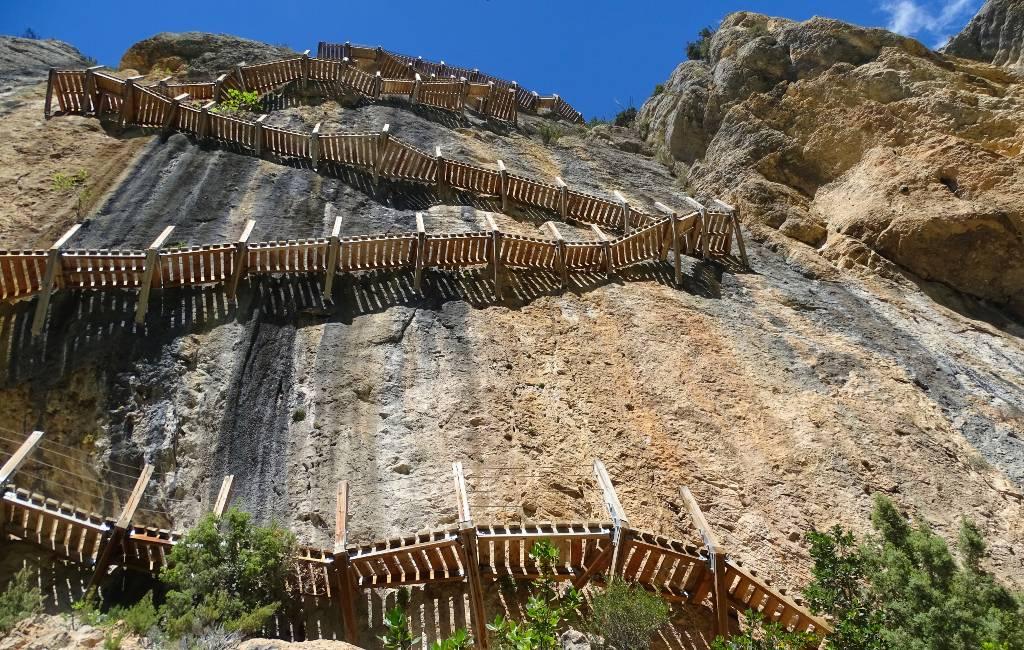 Spectaculaire wandeling in Spanje: Congosto de Mont-rebei in de Pyreneeën