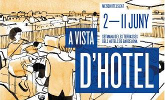 Dakterrassen hotels Barcelona openen deuren met culturele en culinaire evenementen