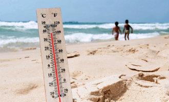 Warme Afrikaanse lucht zorgt voor hoge zomerse temperaturen in Spanje