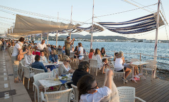 Ibiza is de tweede stad van Spanje met de meeste bars per elke 1.000 inwoners