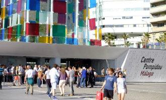 Het internationale toerisme naar Málaga stad opnieuw gestegen